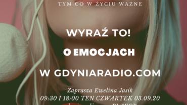 Gdynia Radio-Coaching Cafe-audycja o emocjach już 3 września o 09:30!